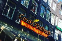 Coco's lichtreclame Amsterdam
