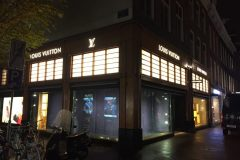 Louis Vuitton  Amsterdam lichtreclame