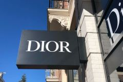 Dior Amsterdam lichtreclame