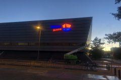 Lichtreclame Dudok Arena