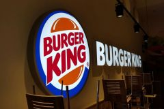 Lichtreclame Burger King