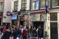 The Bulldog Amsterdam neon - lichtreclame