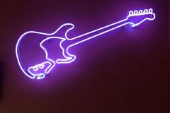 Neon-gitaar